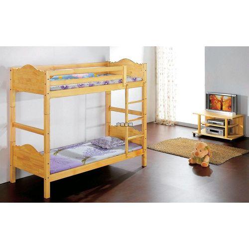 艾克里北歐松木家具雙層床