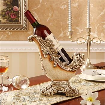 欧式奢华红酒托