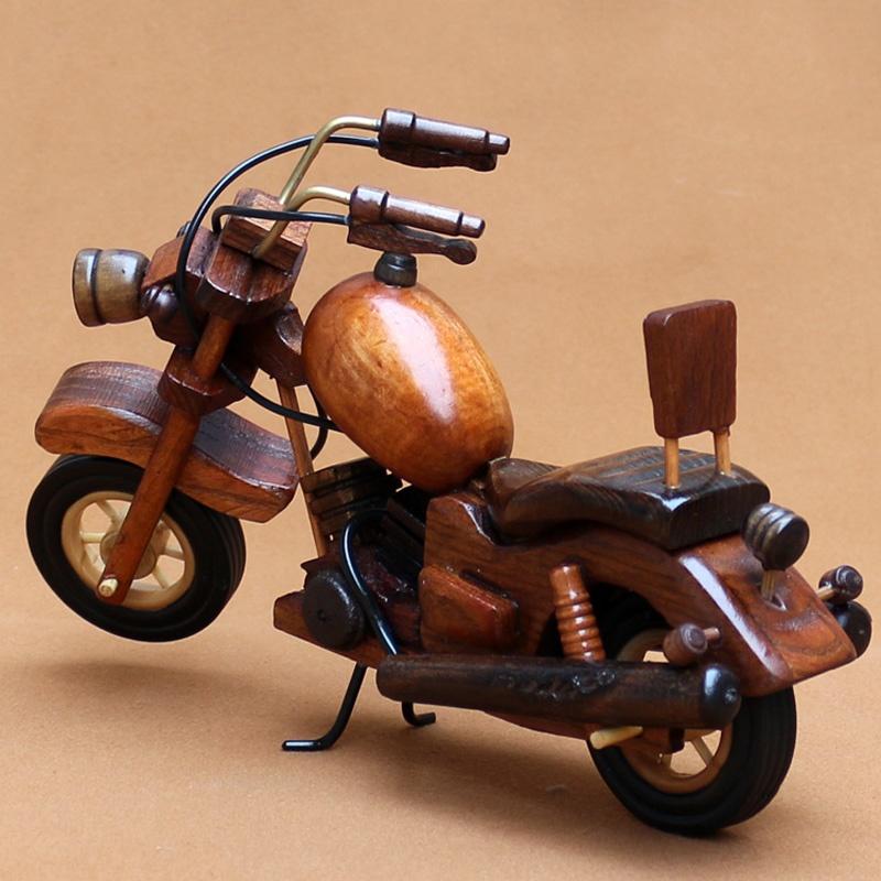 木质摩托车 模型