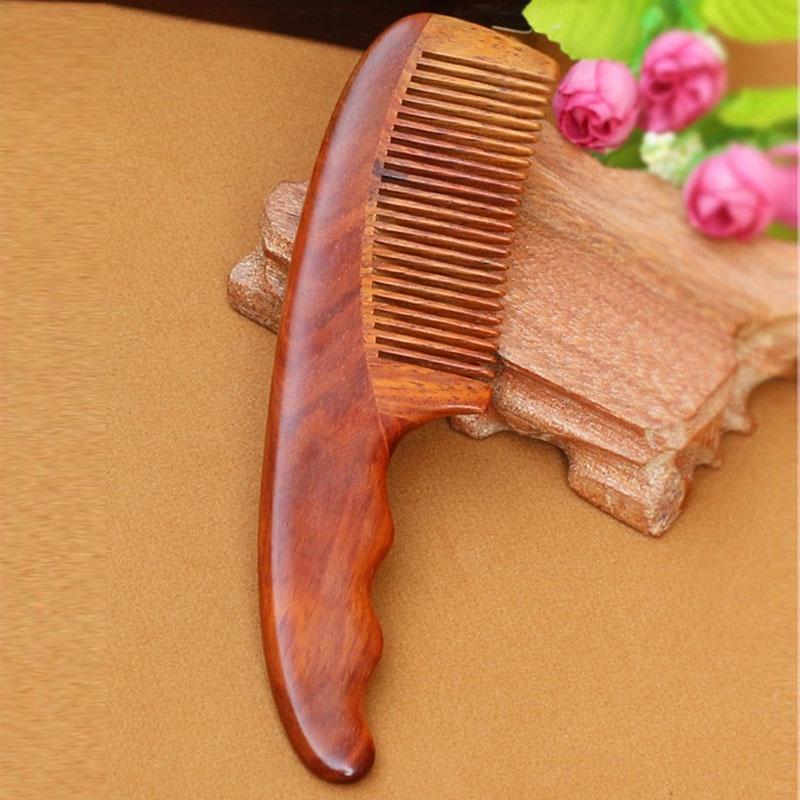 馨怡阁 木梳子 红木梳子 手工工艺 保健按摩 握感舒适 红木梳15