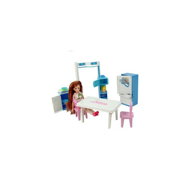 00 乐吉儿 梦幻甜蜜家园h22b 芭比娃娃套装礼盒 儿 1 条评论) 119.