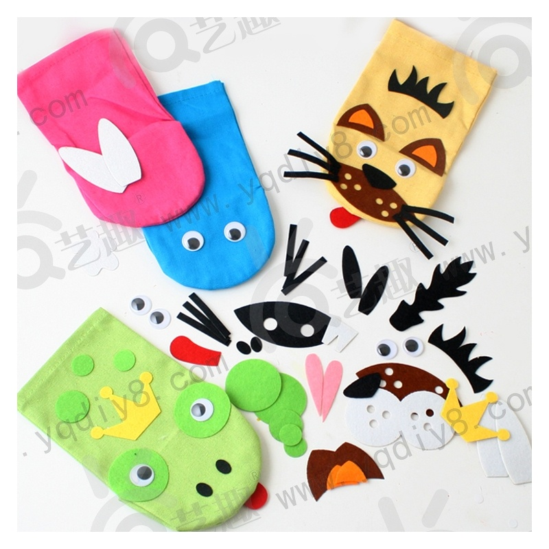 幼儿园袜子手工制作
