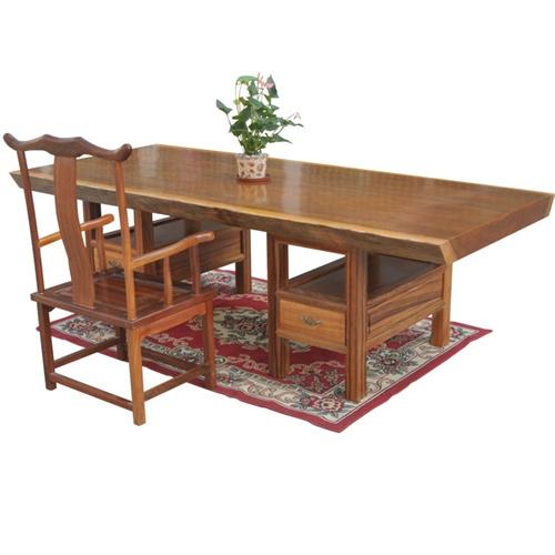 实木大板桌实木办公家具