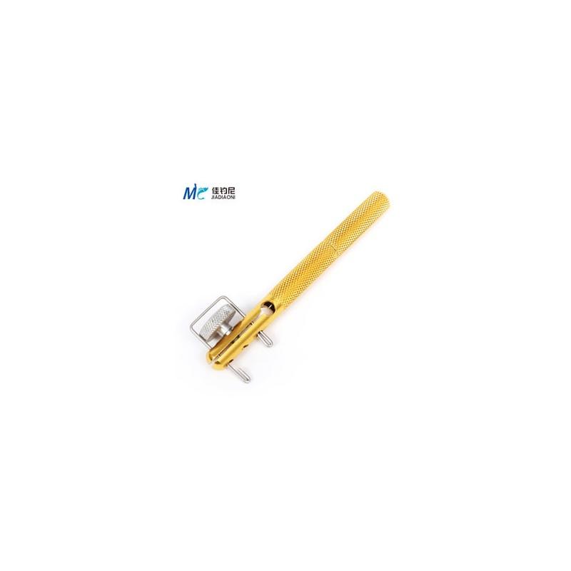手动绑钩器 不伤子线绑钩器使用方法图解 绑钩器 ...