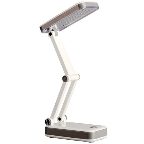 得力3676台灯 充电led节能 可折叠式护眼灯 手机贴膜学生阅读学习台灯