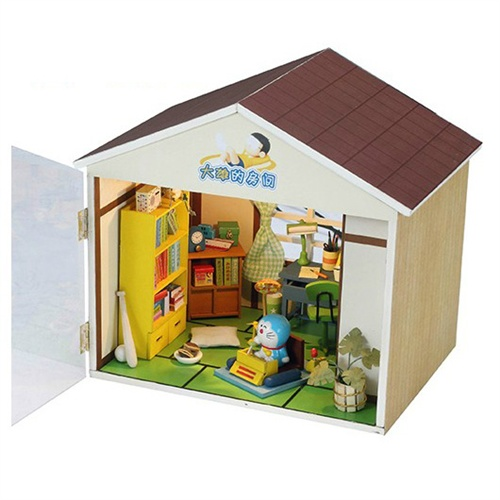 礼物动漫diy小屋 创意木房