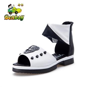 夏季新款女儿童凉鞋韩版公主鞋高帮凉鞋潮鞋