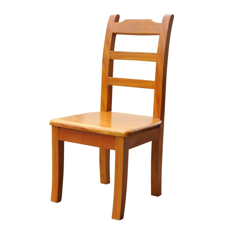 根之魂 实木办公家具 简约餐椅 休闲靠背椅 两横杆椅子 办公桌椅茶