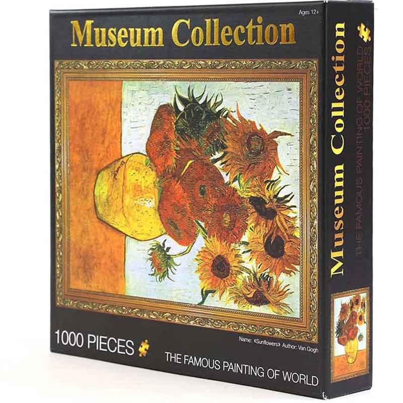 玩美一百 玩具堡世界名畫油畫拼圖 成人拼圖1000片拼圖 風景油畫益智