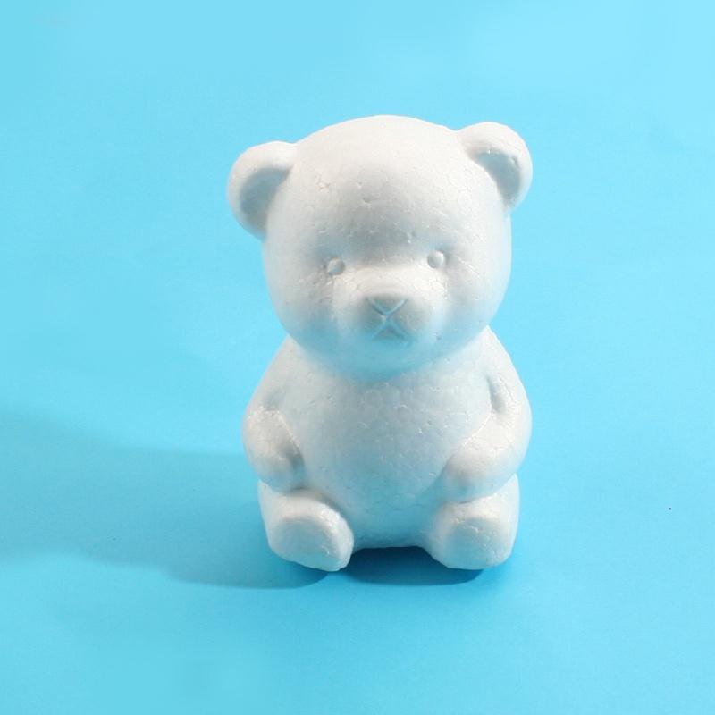 艺趣手工材料保丽龙泡沫动物模型幼儿园手工材料diy