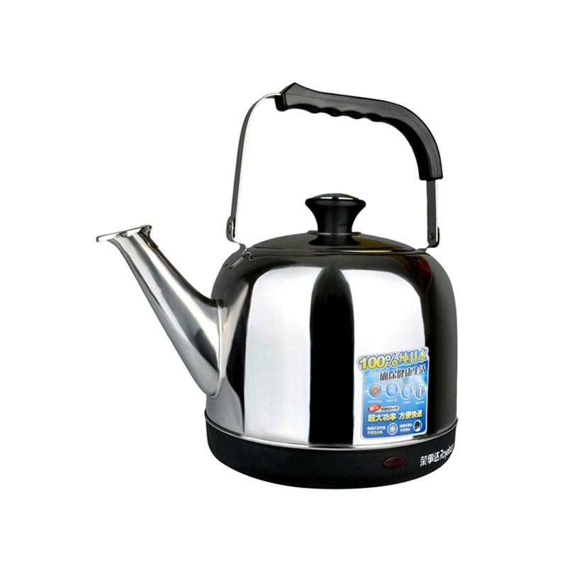 jy60c电热水壶不锈钢烧水开水壶保图片