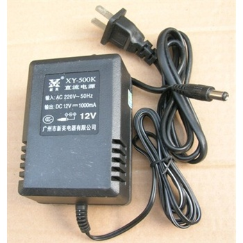 新英xy-500k电源适配器变压器交流220v转直流12v 1000