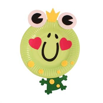 幼儿园手工自制纸盘动物材料包儿童diy制作创意礼物