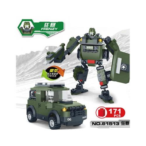 儿童益智玩具赛车汽车机器人