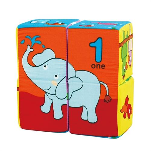 拉拉布书 魔方拼图-数字与动物