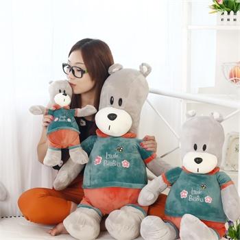 布布熊公仔毛绒玩具大号bubu熊娃娃可爱玩偶生日礼物女生