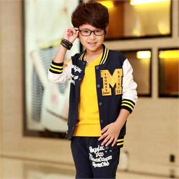 棒球服大童儿童运动服装