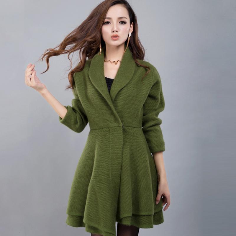 军绿色长袖女