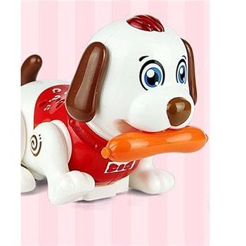 儿童玩具遥控机器人笨笨狗 遥控智能小宠物 智能机器狗玩具快乐斑斑狗