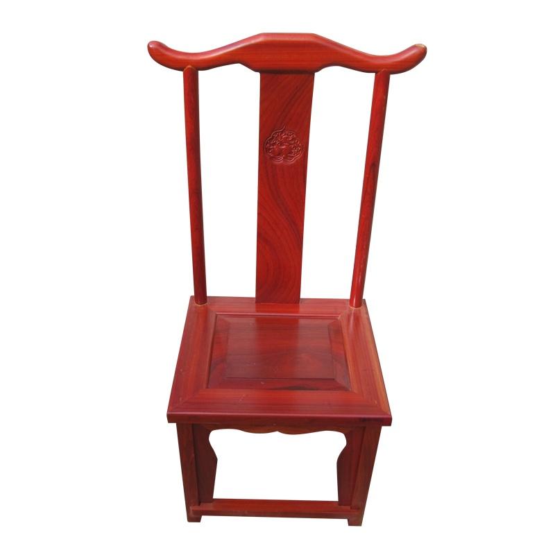 根之魂 实木办公家具 进口花梨木 简约餐椅 中式仿古椅子 办公室休闲