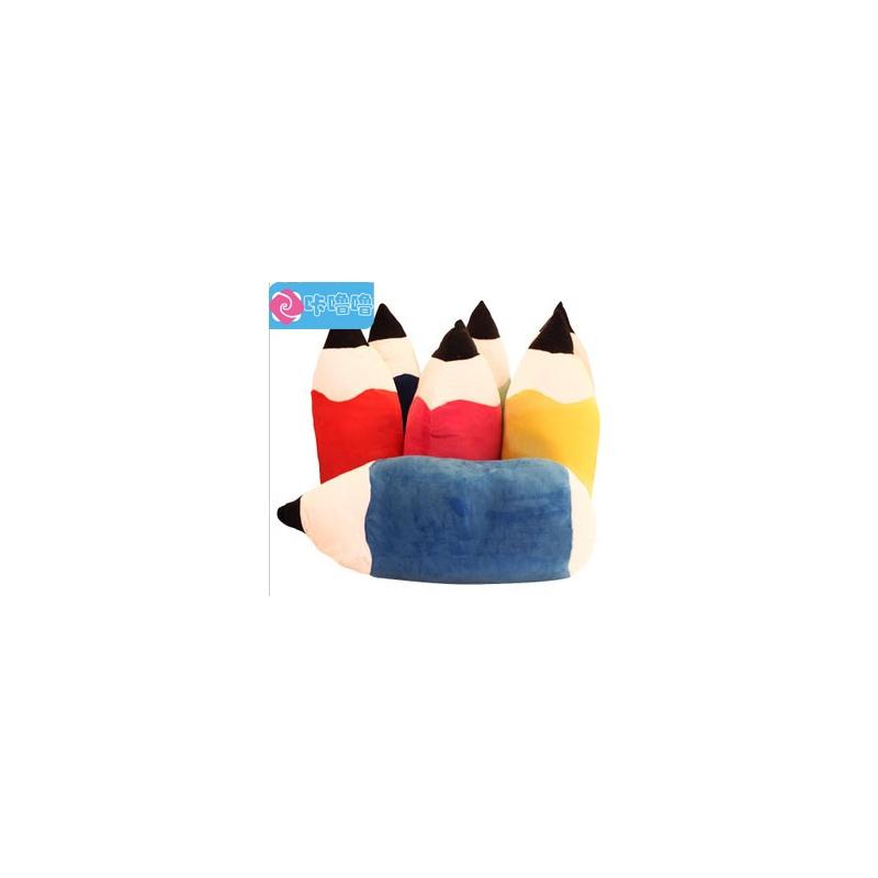 咔噜噜 彩色铅笔抱枕 午休枕 毛绒玩具 创意礼品