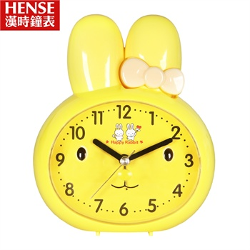 汉时钟表 创意儿童闹钟卡通可爱钟表床头小闹钟ha25