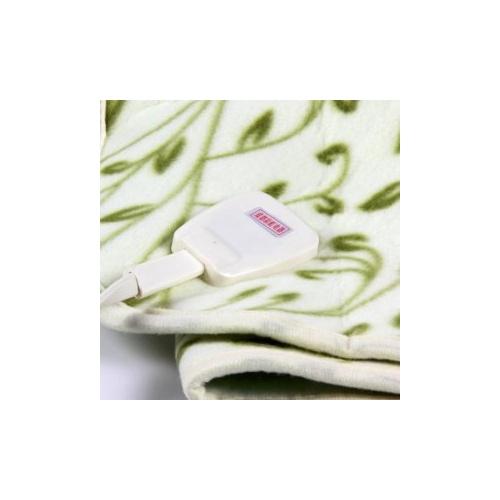 彩虹tb105 数字显示自动控温电热毯(双人多温区舒适绒