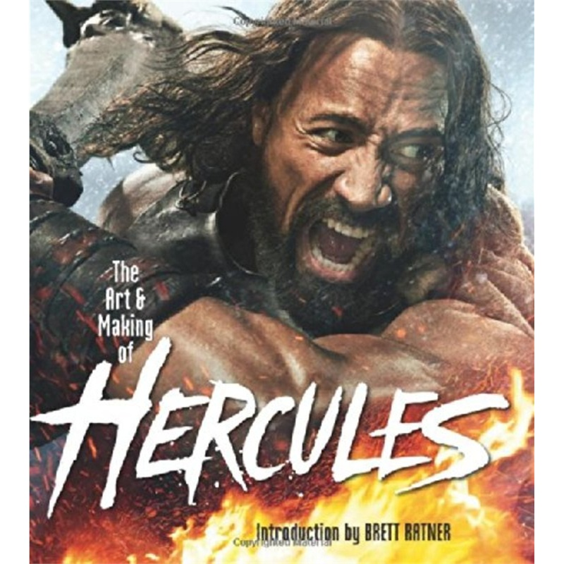 【The Art and Making of Hercules ISBN:97800