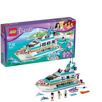 LEGO乐高L41015 Friends女孩系列 海豚号游艇 $50.99