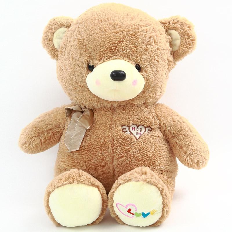 正品可爱泰迪熊布娃娃 毛绒玩具天使熊公仔 创意玩偶