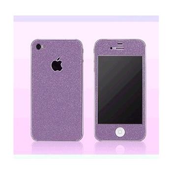 苹果iphone4炫彩贴 全身贴 时尚贴 闪钻贴纸 保护膜 含边框贴膜 苹果i