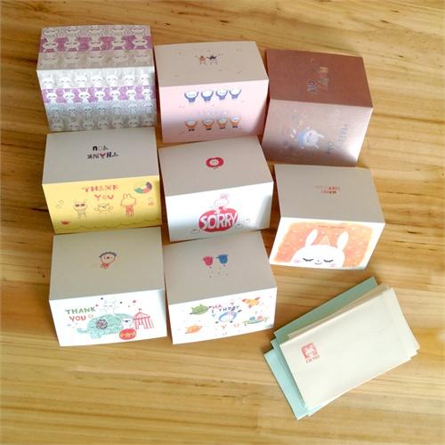 吉米兔宝宝成长纪念册 韩版创意手工制作 diy超可爱原创手绘彩色贺卡
