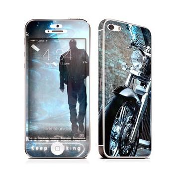 pz 苹果iphone5手机贴膜 全身贴纸 iphone5s前后膜 彩膜 男生个性.