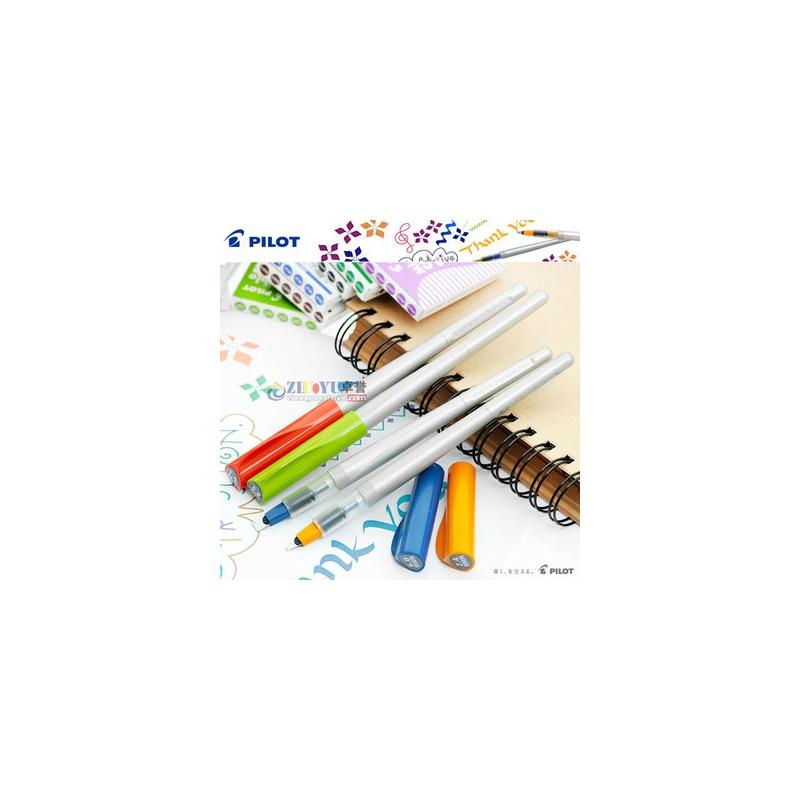 日本pilot百乐英文书法笔 平行笔 美工钢笔 哥德体艺术字练习
