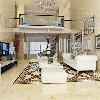 高恩 瓷砖 800x800全抛釉 仿大理石瓷砖 客厅地砖 仿玉石地板砖