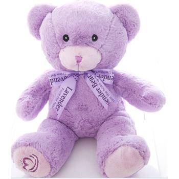 尚绒坊 泰迪熊薰衣草清香可爱小熊抱枕布娃娃玩偶抱抱熊生日礼物女生