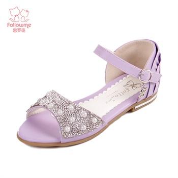 【富罗迷凉鞋】富罗迷2014新款女童凉鞋公主鞋儿童鞋