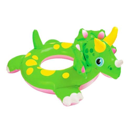 美国intex㊣58221可爱动物浮圈三种造型儿童游泳圈