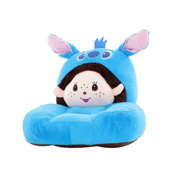 儿童沙发卡通可爱hellokitty龙猫懒人榻榻米毛绒玩具地板垫椅坐垫