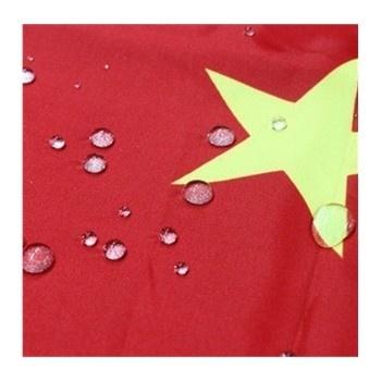 庆国庆 1号高档优质纳米防水中国国旗 防晒防静电五星红旗一号192.
