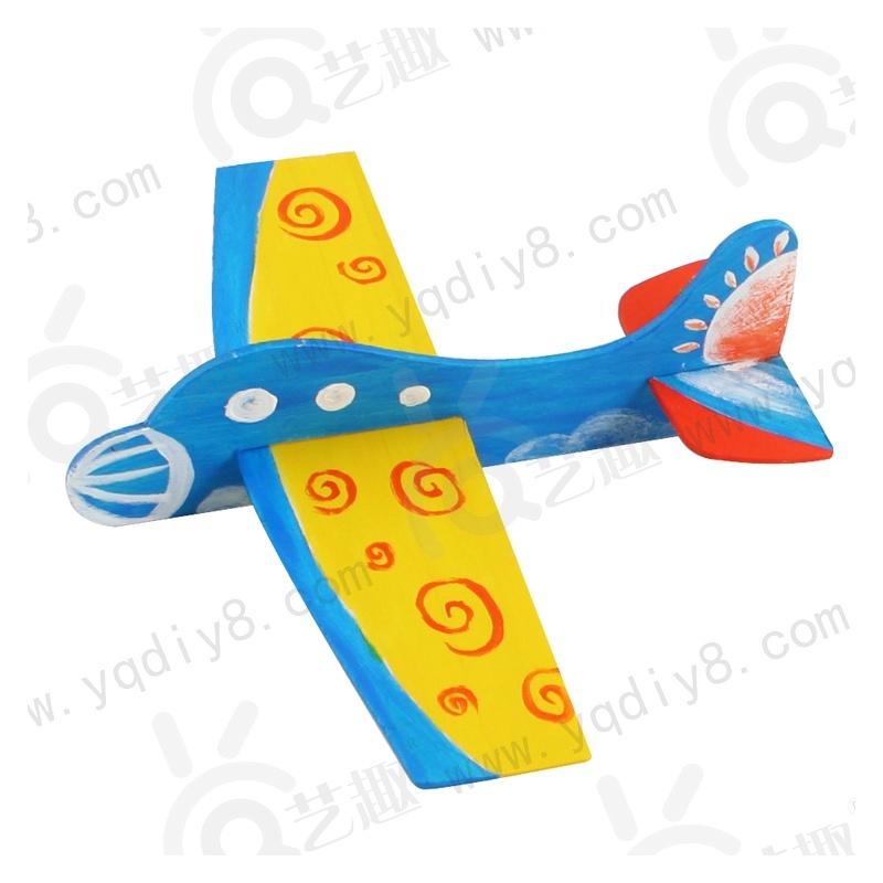 材料手工diy儿童手工制作幼儿手工diy-diy木制飞机