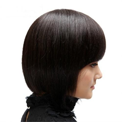 中老年假发 中年妈妈 女士假发短发新款女 假发套 发型女 假头发(自然