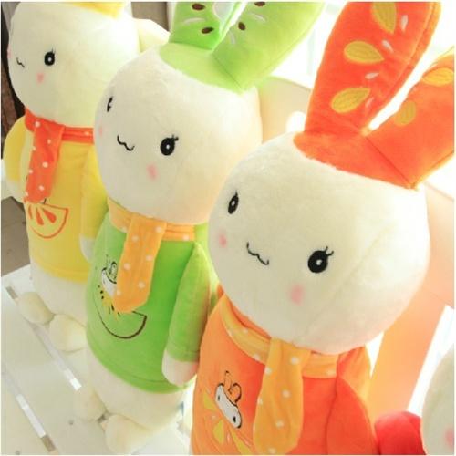 可爱小兔子毛绒玩具布娃娃