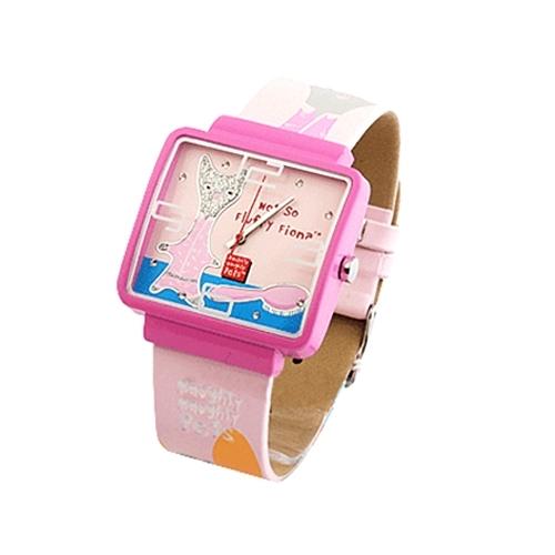 彩特手表_彩特乖乖时尚女表3084l-(表盘粉色)-手表眼镜-当当触