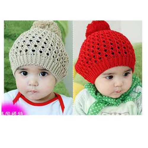 韩国小妖-韩国帽子/手工编织帽子/儿童帽子/毛线帽子