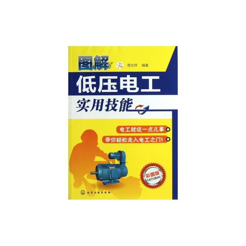 图解低压电工实用技能彩图版 蒋文祥 正版书籍 科技