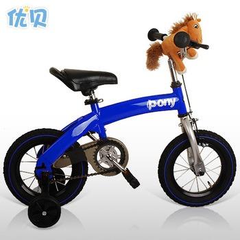 【优贝儿童自行车】【优贝】欧美新款12寸pony变形