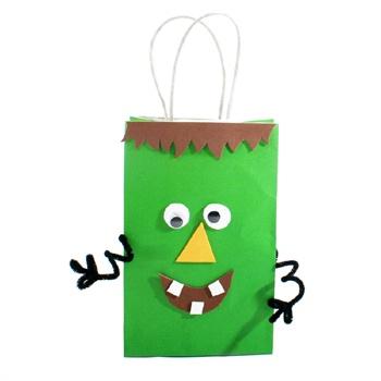 幼儿园万圣节南瓜巫师灯笼艺趣diy儿童手工玩具疯狂