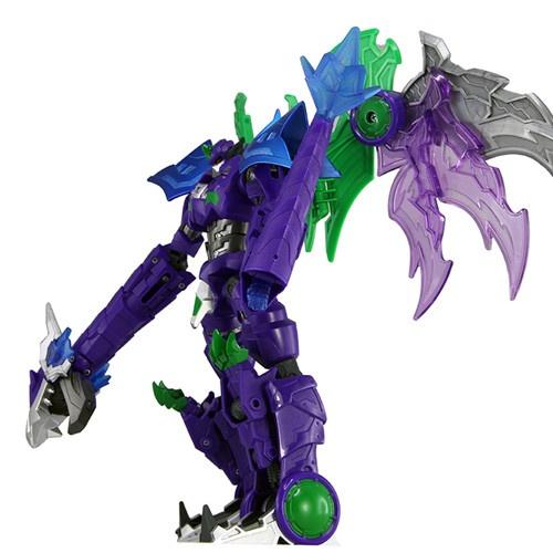 奥迪双钻 武战道 高端变形金刚玩具战龙皇