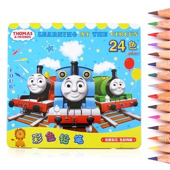 托马斯儿童画笔铅笔/彩色铅笔卡通幼儿彩色绘画工具